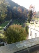 Blick auf den Barockgarten
